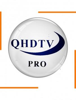 Abonnement 12 Mois QHDTV Pro