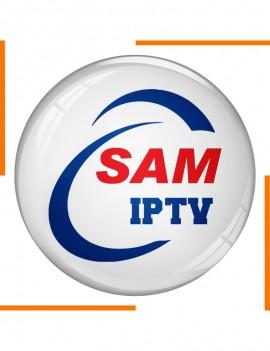 Abonnement 12 Mois SAM IPTV