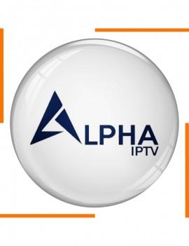 Abonnement 12 Mois Alpha IPTV