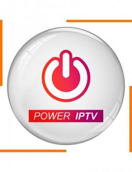 Abonnement 12 Mois Power IPTV