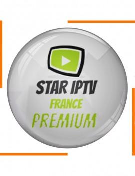 إشتراك 12 أشهر Star IPTV France Premium