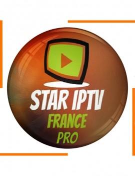 إشتراك 12 أشهر Star France Pro