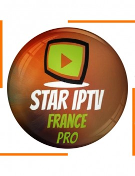 Abonnement 12 Mois Star IPTV France Pro