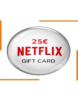 بطاقة هدية Netflix 25€