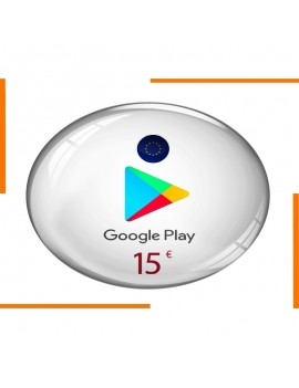 Google Play 15€ Gift Card