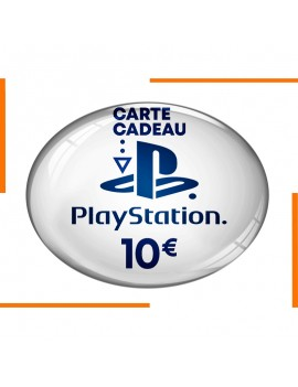 Carte PlayStation Store 10€