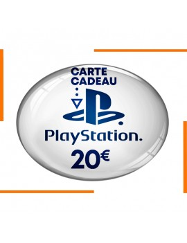 Carte PlayStation Store 20€