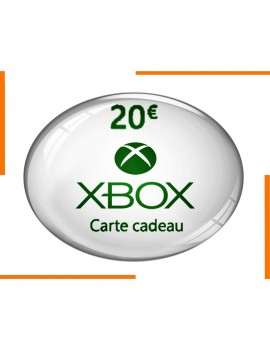 بطاقة هدية Xbox 20€