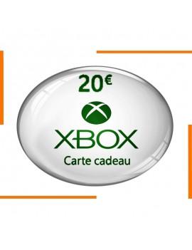 Carte Cadeau Xbox 20€