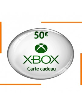 بطاقة هدية Xbox 50€
