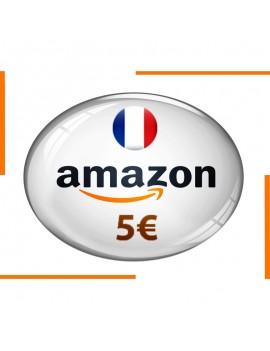 Carte cadeau Amazon 5€