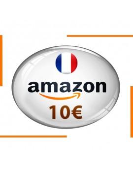 Carte cadeau Amazon 10€