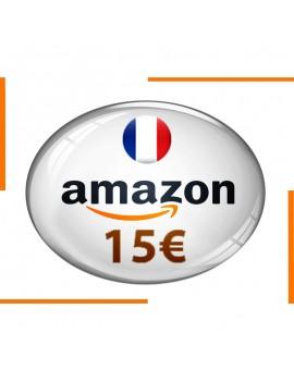 Carte cadeau Amazon 15€