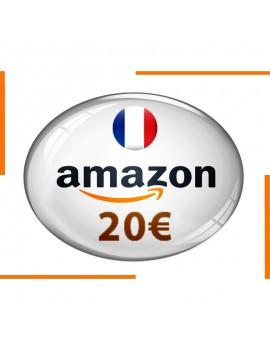 Carte cadeau Amazon 20€
