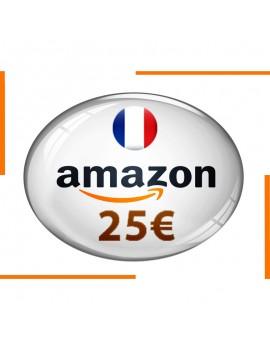 Carte cadeau Amazon 25€