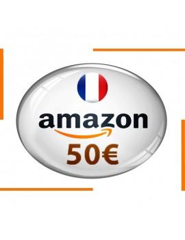 Carte cadeau Amazon 50€