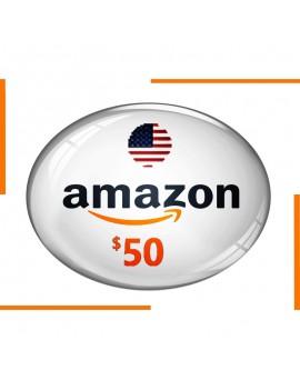 بطاقة هدية Amazon 50$
