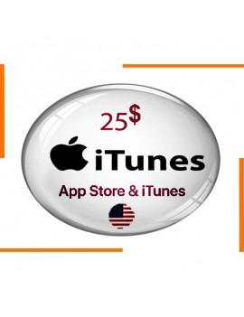App Store & iTunes 25$ Gift...