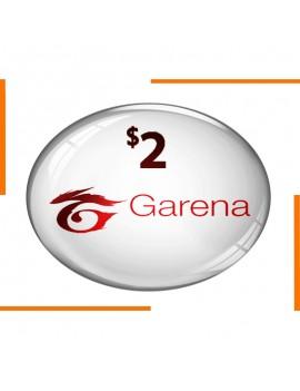 Garena Coupon 2$