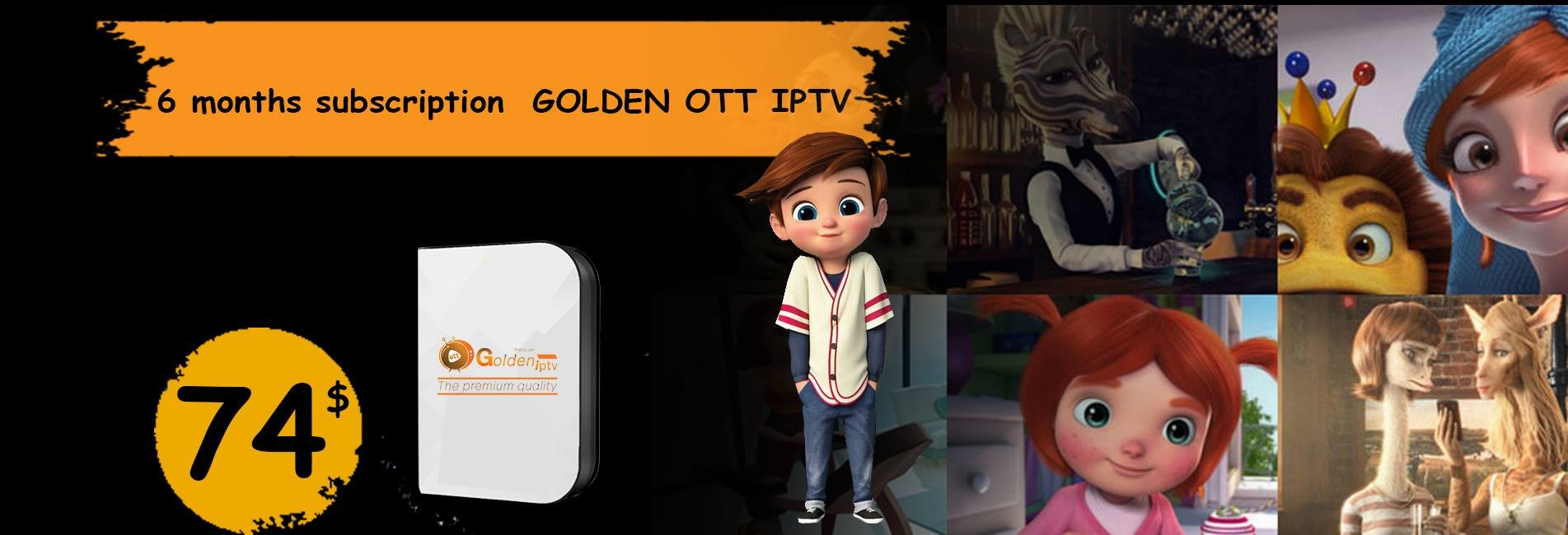 GOLDEN OTT IPTV
